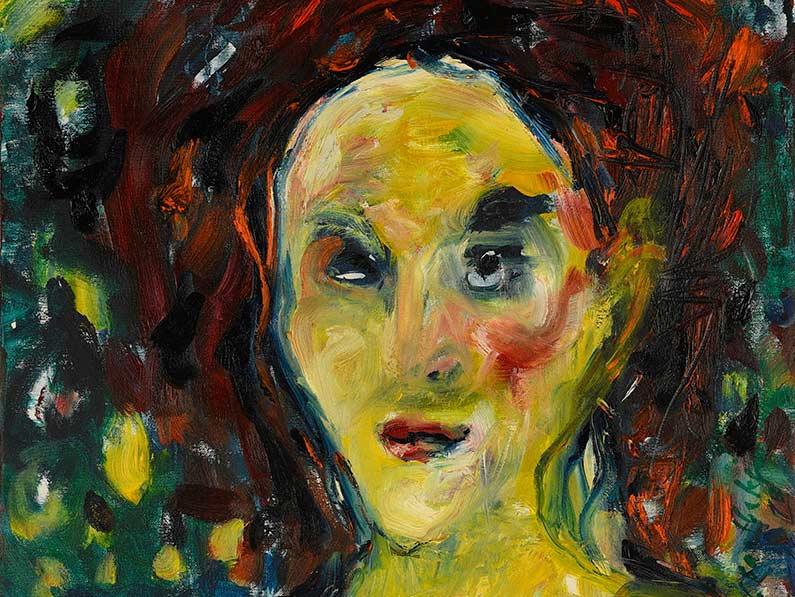 Zrzavá (Autoportrét I)